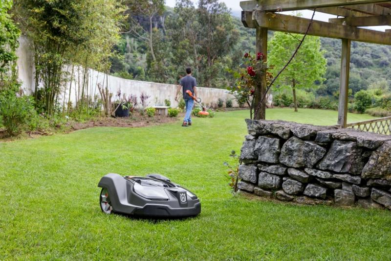 Gartengestaltung Planen Sie Den Einsatz Eines Roboters