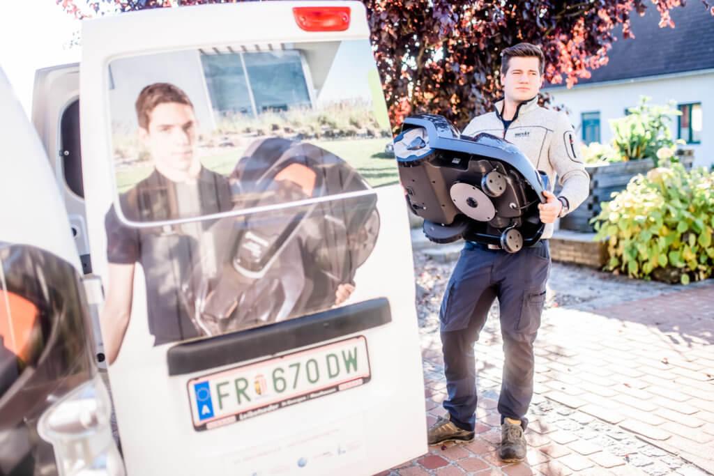 Automower Vor Ort Service