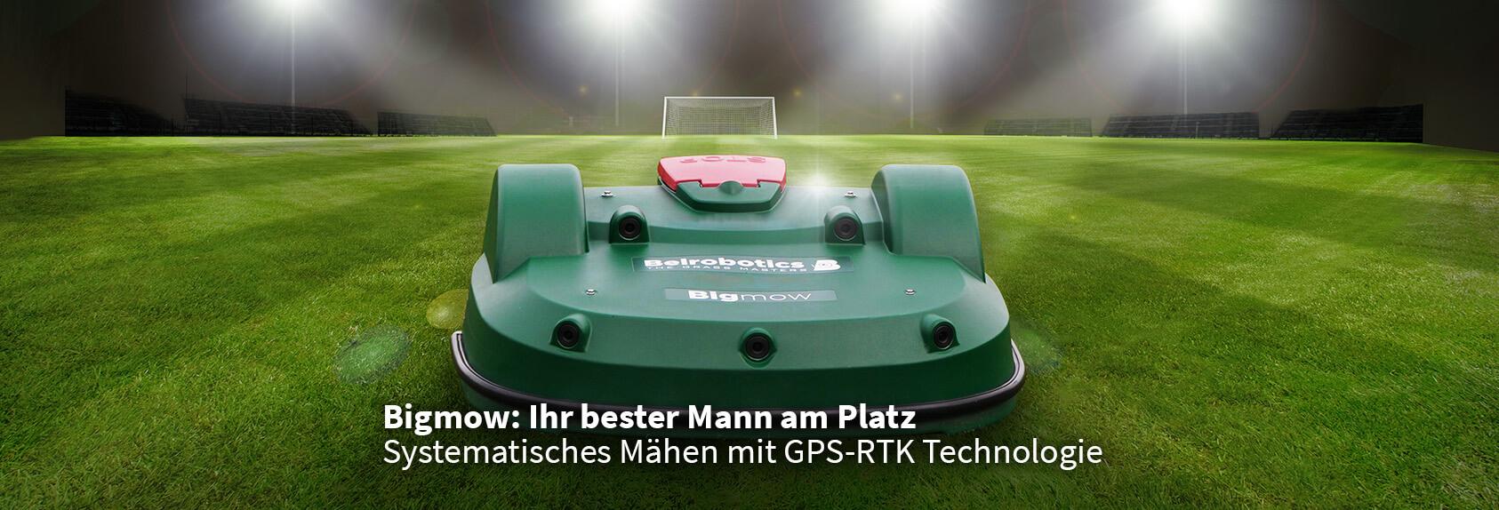 Belrobotics GPS RTK Mähroboter